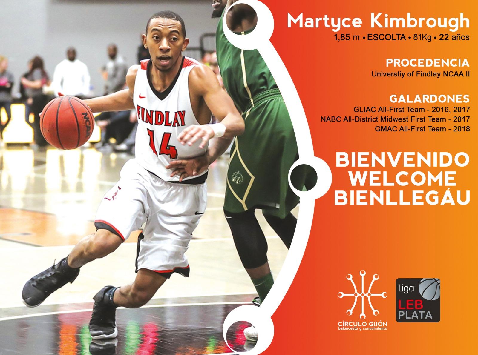 Martyce Kimbrough Círculo Gijón Baloncesto