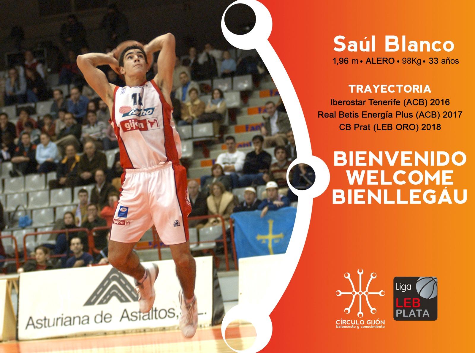 Saúl Blanco Círculo Gijón Baloncesto
